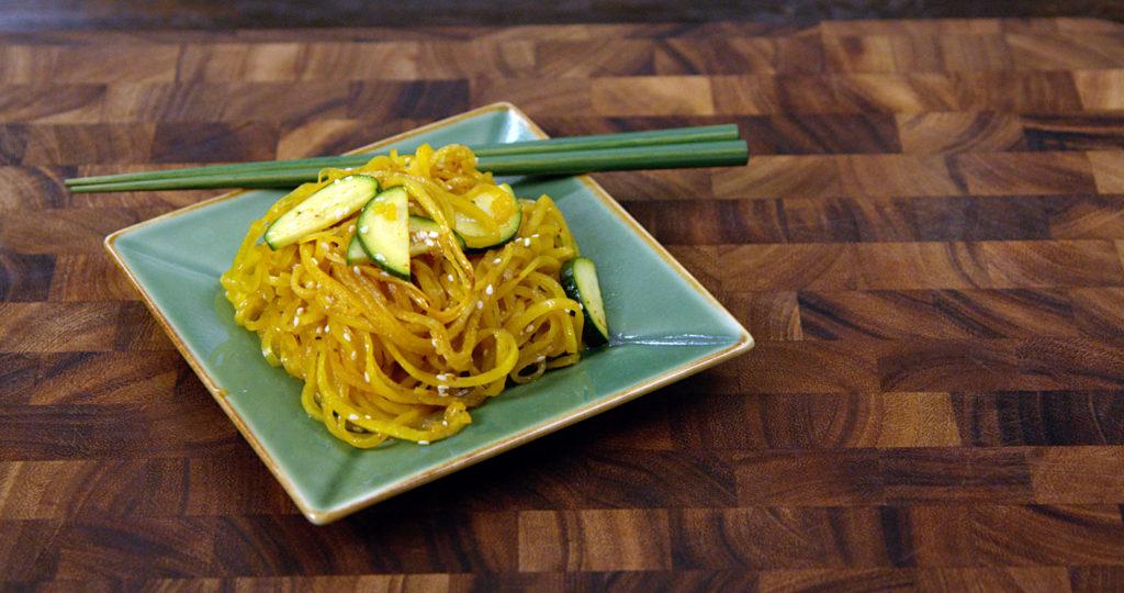 Tallarines Asiáticos de Verduras