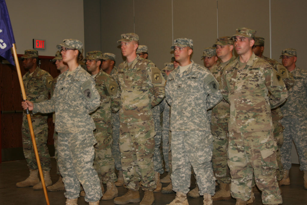 Ceremonia de Despedida para los Soldados del Batallón 411 de Asuntos Civiles