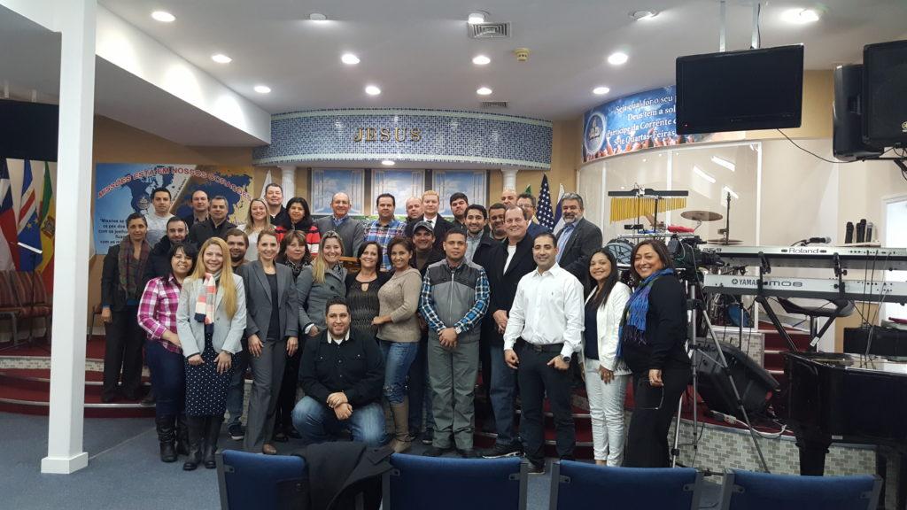 Primera Reunión-Desayuno de Oración de Propietarios de Negocios Brasileros en Danbury