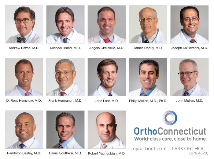 Doctores de OrthoConnecticut Distinguidos por sus Colegas y Pacientes