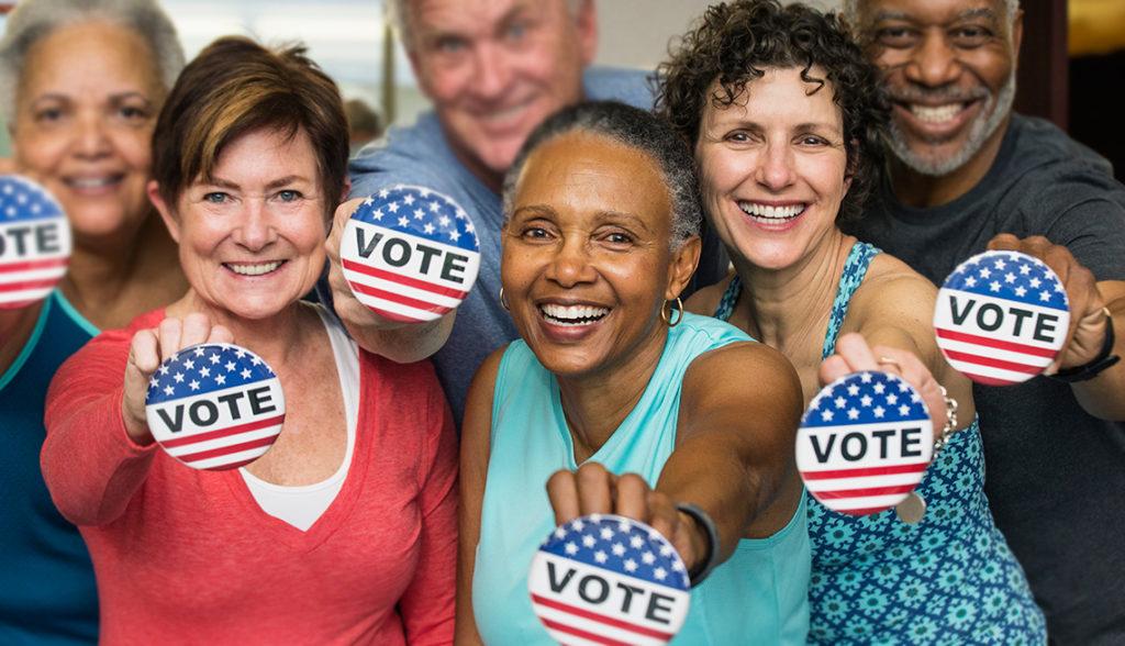 Usted Puede Ser la Diferencia. Prometa su Voto en las Elecciones de 2018