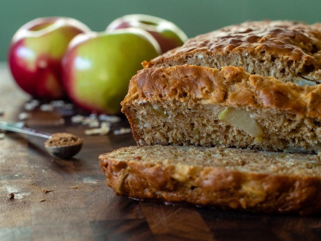 Pan de Especias de Pastel de Manzana