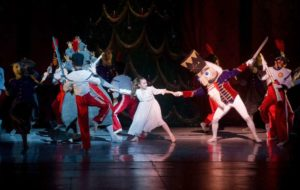 Connecticut Ballet performs a scene from The Nutcracker at the Palace Theatre, Stamford, CT