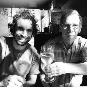 Marco y su padre Alberto José Rodrigues Alves.