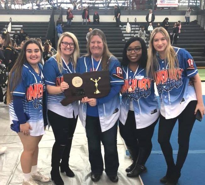 DHS Varsity Cheer Coaches 2019