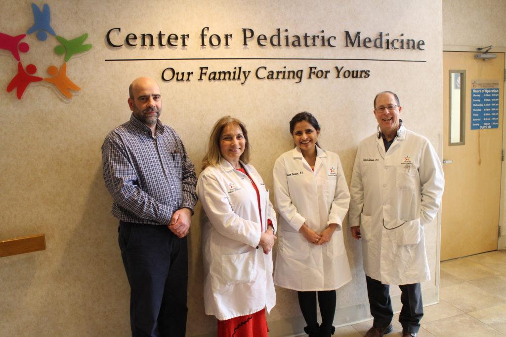Centro de Medicina Pediátrica Ayuda a los Niños a Crecer Sanos